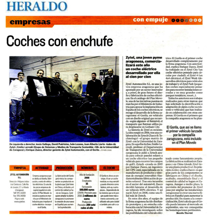 COCHES CON ENCHUFE-ZYTEL